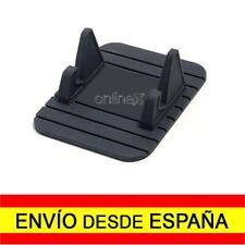 Base Alfombrilla Dock Goma Antideslizante Móviles Salpicadero Coche Negro a0503