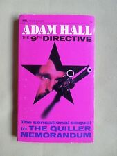 THE 9TH DETECTIVE - ADAM HALL - NEL  CRIME THRILLER  P/BACK - 1968