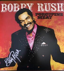 Bobby Rush Porcupine Meat LP Hand Signed 2018 Vinyl Record Grammy Winner Beckett