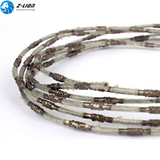 D2.2mm Brazed Diamond Super Thin Cutting Wire Saw Cutting Marble Granite Stone