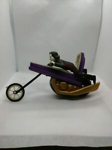 RARE 1978 Ideal SCARE CYCLE figure DRACULA on coffin motorcycle monster toy VHTF