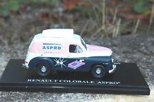1/43e . renault colorale aspro (hachette) voiture tour de france