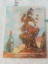 John Moran Auction Catalog - 4/17/2012 - California & American Paintings