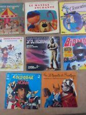 Lot De 9 Disques Vinyles 45 Tours Pour Enfant.  Vintage