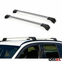BMW X6 Roof Racks Cross Bars Carrier Rails Roof Bar Black 2008-2014