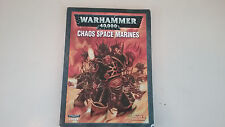 Warhammer 40k Chaos Space marine Codex Circa 2007
