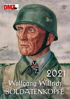 Soldatenköpfe Kalender in Farbe 2021 - 14 Farbige Kalenderblätter