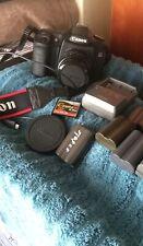 Canon Eos 50D 15.1Mp Digital Slr Camera - Black Fd 50 mm Lens Plus Extras.