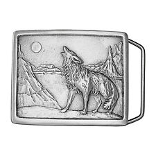 Howling Coyote Belt Buckle 01-H97 IMC-Retail