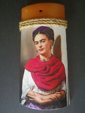 Frida Kahlo Terra Cotta Roof Tile Mexican Art Pottery Clay