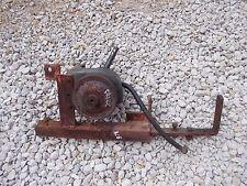 Allis Chalmers G tractor AC belt drivn pulley hydraulic pump assembly drawbar CK