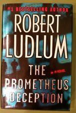 The Prometheus Deception by Robert Ludlum (2000, Hardcover) 1ST ED - VERY GOOD