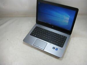 "HP 640 G1 14"" Laptop 2.7GHz i5 8GB DDR3 256GB SSD Windows 10 Pro x64 (Grade B)"