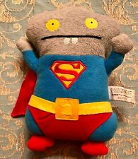"Ugly Dolls ""BABO SUPERMAN"" 11"" Plush Soft Toy, DC Comics, Woven Tag #4037972"