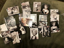 2007 SHAW FAMILY ARCHIVES COLLECTOR CARD MARILYN MONROE COMPLETE SET OF 72 CARDS