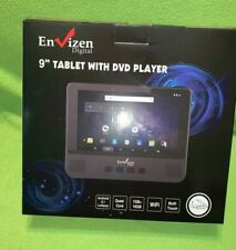 """DVD Portable DVD/Tablet By Envizen Digital 9"""" Tablet With DVD Player"""
