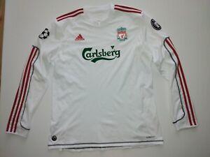 Liverpool Third football shirt 2009 - 2010 SIZE XL