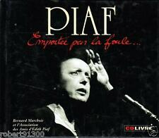 CD AUDIO PLUS LIVRET.../...EDITH PIAF.../...EMPORTEE PAR LA FOULE.....