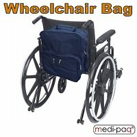 Medipaq® Wheelchair Bag Shopping Mobility Storage Holdall Disabled Scooter