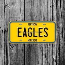Morehead State University Eagles Kentucky License Plate