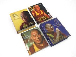 4 x Dalai Lama Mini Small Inspirational Wisdom Truths Buddhism Buddhist Books