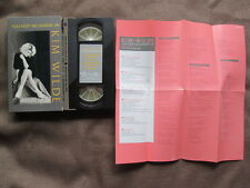 KIM WILDE You Keep Me Hangin' On JAPAN VHS 35P8-9018 w/SLIP CASE+INSERT+LEAFLET