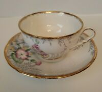 ROYAL STAFFORD TEA CUP & SAUCER SET - Bone China - Made in England