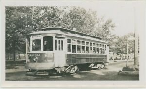 1940s Trenton Transit #250 Streetcar Trolley New Jersey NJ Traction Railway
