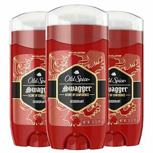 Old Spice Swagger Deodorant Confidence & Cedarwood 3 Oz Pack of 3