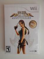 Lara Croft: Tomb Raider Anniversary Game Complete! Nintendo Wii