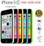 Original Apple iPhone 5c  4G LTE 5 COLORS 100% Factory Unlocked 8GB 16GB 32GB
