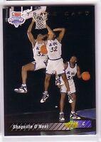 1992 Upper Deck Shaquille O'Neal #1B Basketball Card