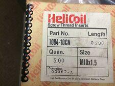 QTY. 100 - HELICOIL SCREW THREAD INSERTS 1084-10CN 200 - M10 X 1.5 X 20 MM LONG