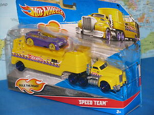 HOT WHEELS SPEED TEAM 969 ONE VEHICLE INCLUDED 2 PACK ***BRAND NEW & RARE***