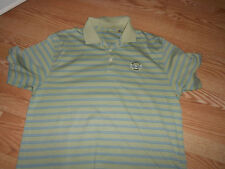Scituate C.C. golf polo shirt  green with stripes Ashworth XL