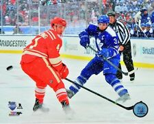 2014 WINTER CLASSIC Dion Phaneuf Toronto Maple Leafs LICENSED poster 8x10 photo