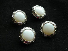 BUTTONS      - Set of FOUR buttons  - Shank style