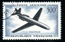 STAMP / TIMBRE FRANCE OBLITERE POSTE AREIENNE N° 36 CARAVELLE