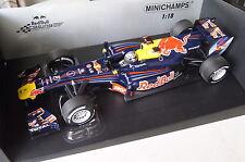 Formel 1 2010 Red Bull S.Vettel #5 Brazilian GP Winner 1:18 Minichamps neu & OVP