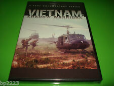 VIETNAM: SHADOW WARRIORS, DVD (2011) 4-Part War Documentary Series, NEW SEALED