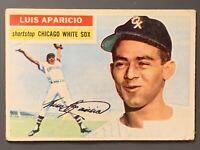 1956 Topps #292 Luis Aparicio Rookie GD+/ Crease Chicago White Sox HOF