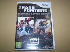 Transformers-Ultimate Battle Edition Wii Nuovo e Sigillato