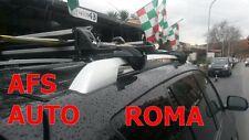 BARRE PORTATUTTO ALLUMINIO RAV4 2006 CON CHIAVE+PORTASCI 6 COPPIE CON CHIAVE