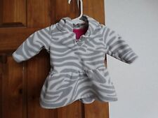 Carter's baby girls long sleeve pullover hooded fleece top or jacket size 3 mos