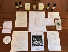 Set Soho Grand Hotel New York,NYC Room Amenities Bath Products, Stationery, etc.