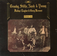 CROSBY, STILLS, NASH & YOUNG - Deja Vu (LP) (G++/G++)
