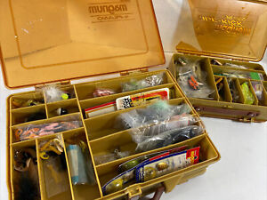 Micro Magnum Plano 1122 Double sided Fishing Tackle Box Full of Tackle & Mini