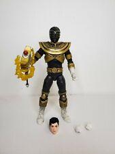 Power Rangers Lightning Collection Zeo Gold Ranger Mighty Morphin Black Hasbro
