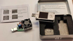 AVHzY CT-2 + Load USB Tester und Last, Profimessgerät, Power Delivery Analyse