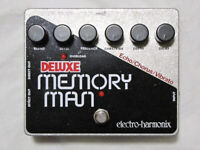 Used Electro-Harmonix EHX Deluxe Memory Man Delay Guitar Effect Pedal